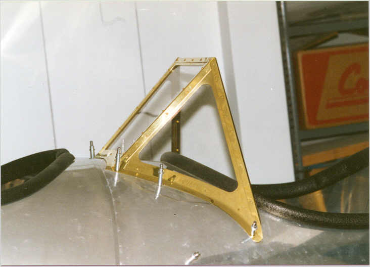 Brass Windshield Frames